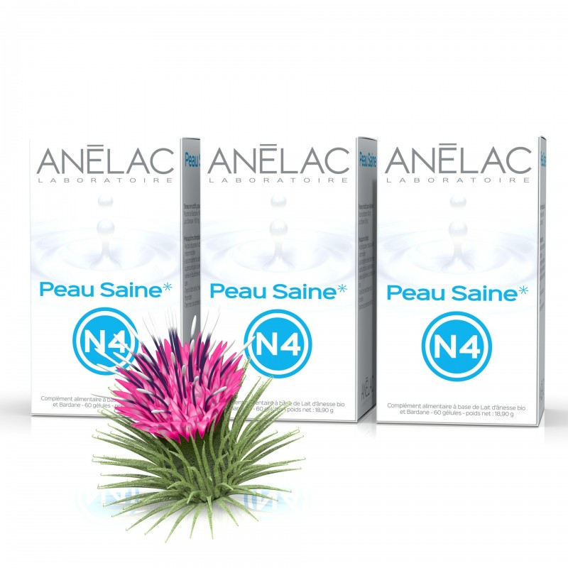 Pack Peau Saine N4 - Pack de 3 boîtes